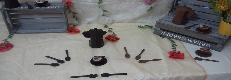 Cucchiaini cioccolato caffettiera