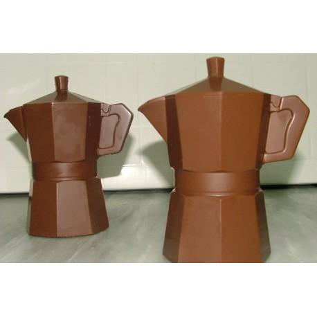 Caffettiera di cioccolato