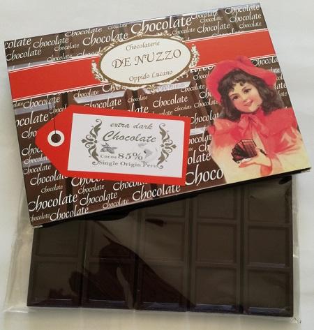Tavolette cioccolato artigianale